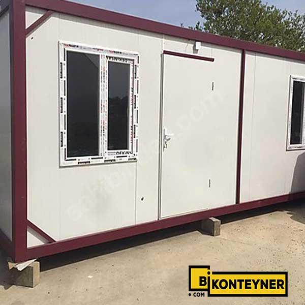 21 m2 tek odalı konteyner